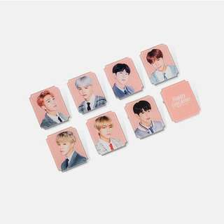 BTS 4TH MUSTER GOODS-- ACRYLIC BADGE (LUCKY DRAW)