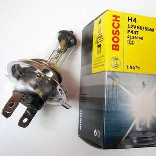 Bosch H4 headlight bulb