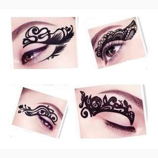 Eye brow fake temporary tattoo. Ideal for model show , dnd , and etc. Brand new free mailing