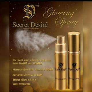 Secret Desire Glowing Spray - 10ml