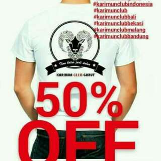 Kaos Combed 30s (Reall Combed)