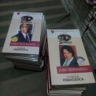 Preloved Pocketbooks- Set (Stallion Series)