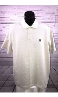 Ralph Lauren Chaps Golf Polo shirt - Beige Short Sleeve Collar