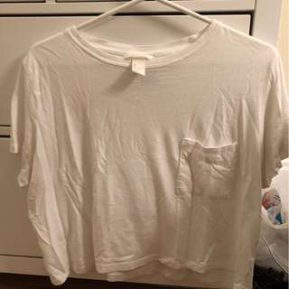 H&M cropped t-shirt