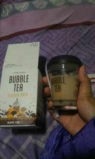 Bubble Tea Black Tea Mask