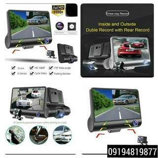 Dashcam Triple Camera