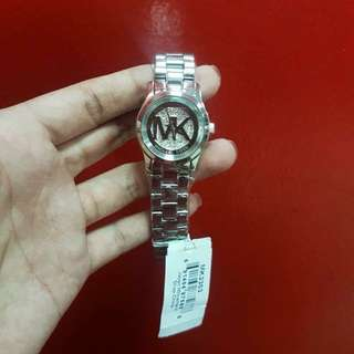 AUTHENTIC MK LOGO MINI WATCH