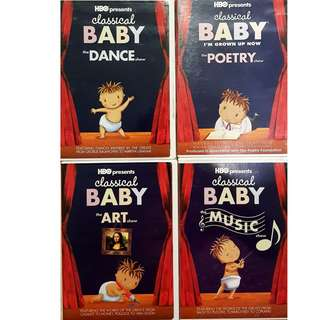Classical Baby 4 dvd set