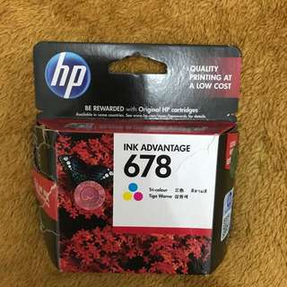Tinta Printer Hp 678 - Warna, Original