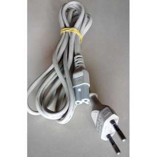 Two Pin Figure 8 Power Cord Cable - Approx 2.0m