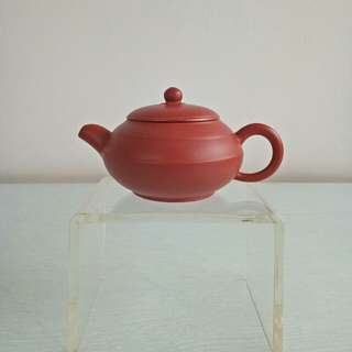Hand made zisha teapot height 6cm diameter 5cm mint condition unused