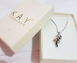 KAY JEWELERS STRUCTURED NECKLACE