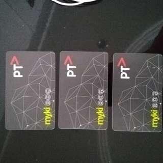 Myki card - Melbourne
