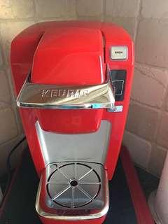 Keurig K15 classic brewer in red