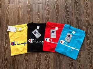 Champion Script SS18/18SS Tee/T-shirt/Shirt
