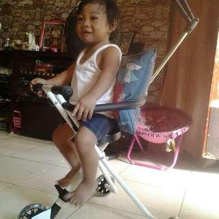 Stroller bike