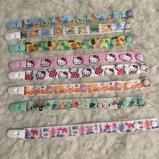 Handmade Pacifier Clip children items