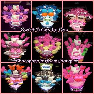 Made to order Chocopops, Mallowpops, Oreo Cookie Pops