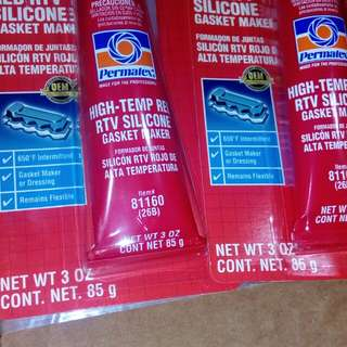 Rtv red silicon special high temperature buy 2 free 1