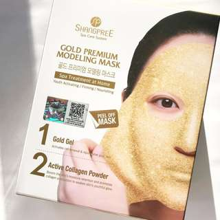 Shangpree Gold Premium Modeling Mask 5 sheets per box