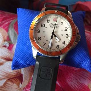 Authentic Wenger swiss military watch