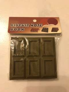 Chocolate/Biscuit Note Book
