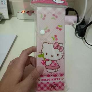Kotak Pensil Hello Kitty Pink New
