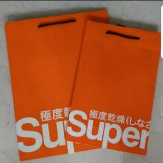 Superdry Paper Bag