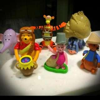 最後一組絕版麥當勞小熊維尼玩具