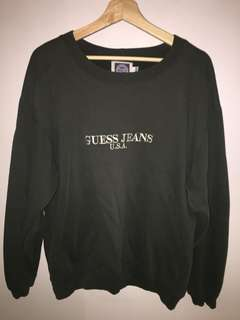 Genuine Vintage GUESS sweater jumper size S