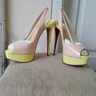 Sale Lady Peep Multicolour Shoes Size 38