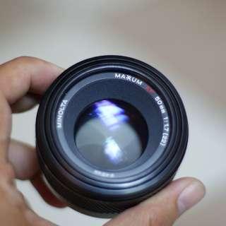 Minolta 50mm f1.7 af