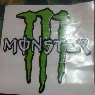 Sticker Monster Energy