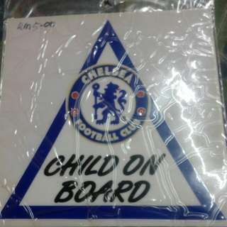 Chelsea mirrow sticker