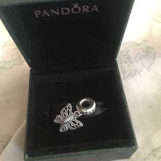 Authentic Brand New Pandora Love Takes Flight Charm