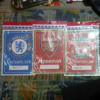 Stiker set chelsea arsenal