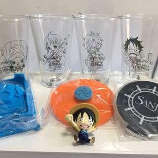 MTR X One Piece 海賊王紀念杯套裝