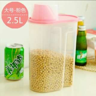 Food Storage Container  2.5L (pink)