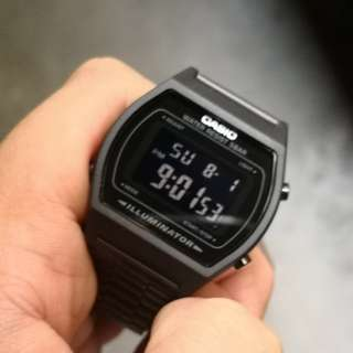 Casio triple black