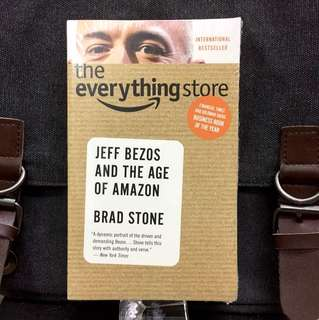 #Recommended《Bran-New + 2017 The Richest Man In The World + The Biography of Amazon Founder》Brad Stone - THE EVERYTHING STORE: Jeff Bezos and the Age of Amazon