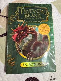 Fantastic Beasts and Where to Find Them by J K Rowling