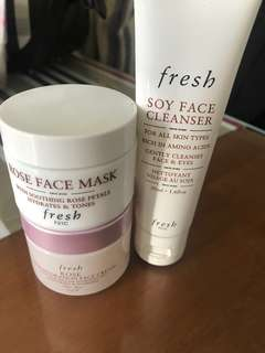 Repriced!!!Fresh Rose Hydration Set