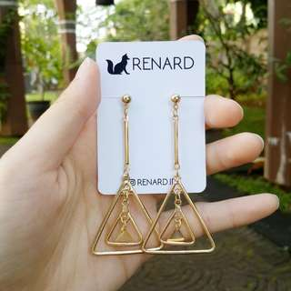 Lemone Rone Earring/ anting cantik / anting imut / anting lucu / anting manis / anting korea