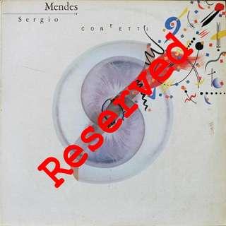 Sergio Mandez, Vinyl LP, used, 12-inch original pressing