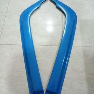 Window visor for Fuso 10ft