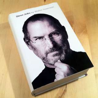 Steve Jobs biography (Hard cover)