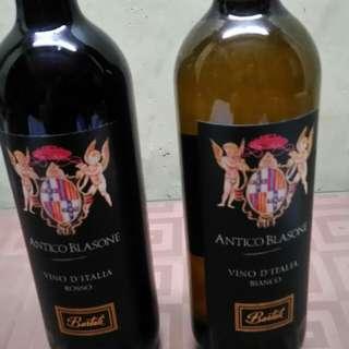 Antico Blasone Red and white wine