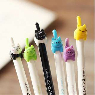 Cute cats fine tip pen