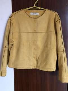 Final Price ZARA Suede Effect Jacket XL