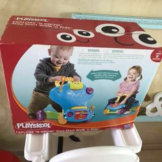 Brand new walk & ride play Skool